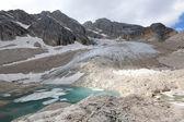 The Antelao glacier, The Dolomites — Stock Photo
