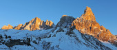 Sunset on the Dolomites — Stock Photo