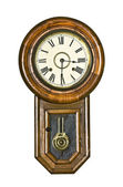 Vintage Pendulum Clock — Stock Photo