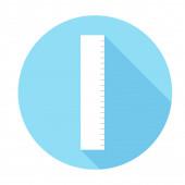 Ruler Icon illustration — Vettoriale Stock
