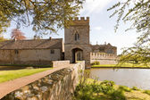 Castle moated — Stock Photo