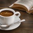 Still life - coffee with text Asia — Stock Photo #78688680