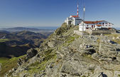 Top  of La Rhune mountain in Atlantic Pyrenees — Stock Photo