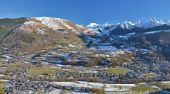 Panorama of Aure Valley in Hautes Pyrenees — Stock Photo
