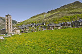 Tahull village in Valley of Boi in Catalonia — Stock Photo