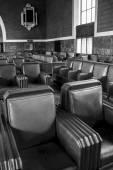 Railway Station Interior - Seating Area — Stock Photo