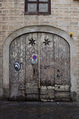 Florence: The door — Stock Photo