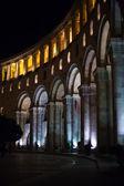 Yerevan: Night Republic square — Stock Photo