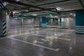 Basement Parking — Stock Photo