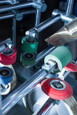 Lamination machine: parts — Stock Photo