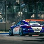 Постер, плакат: Porsche GT3 racing car