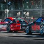Постер, плакат: Porsche GT3 racing cars