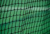 Tennisbaan netto — Stockfoto