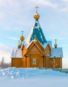 Orthodox church Russian New Martyrs and Confessors  of rear view — Stock Photo