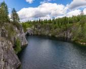 The mining Park Ruskeala — ストック写真