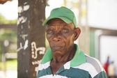 Afro american man posing — Photo