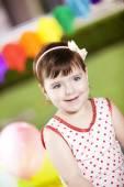 Niedliche kleine Mädchen — Stockfoto