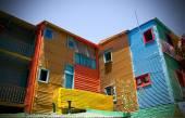 Buautiful colorful buildings — Stock Photo