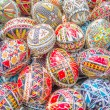 Decorated easter eggs — Stock Photo #69471501