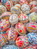 Decorated easter eggs — Fotografia Stock