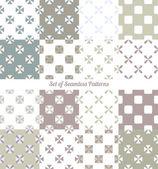 Seamless ornaments vector illustration — Vector de stock