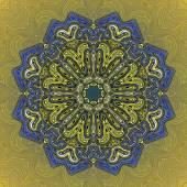 Mandala Round Ornament Pattern Vector — Stock Vector