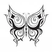 абстрактный декоративные бабочка. — Cтоковый вектор