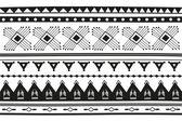 Ethnic jacquard ornament — Stock Vector