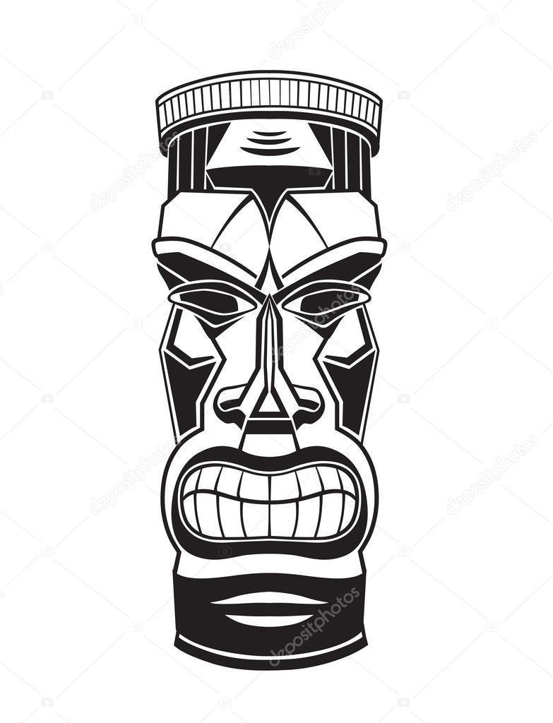 Estatua de dios de tiki hawaiana archivo im genes for Tiki hawaiano