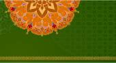 Ethnic vintage ornament background — Stock Vector