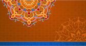 民族复古装饰品背景 — 图库矢量图片