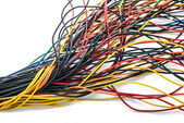 Colourful wires — Stock Photo
