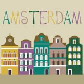 Amsterdam card — Vecteur