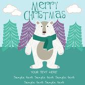 Happy Holiday card — Stock Vector