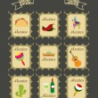 Travel stamps set — Stock Vector #63494511