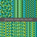 Kaleidoscope pattern set — Stock Vector #63663189