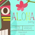 Aloha party — Stock Vector #64005085