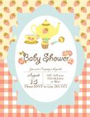 Baby Sower card — Stok Vektör