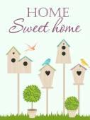 Maison douce maison — Vecteur