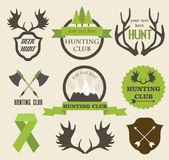 Hunting label — Vector de stock