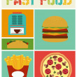 Fast food — Stock Vector #67691411