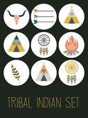 Indian set — Cтоковый вектор