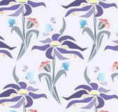 Wallpaper Narcissus — Stock Vector