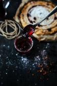 Pie blackberry — Stock Photo