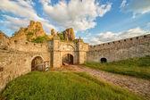 Belogradchik fortress entrance — Stok fotoğraf