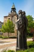 Saints Cyril and Methodius monumet — Stock Photo
