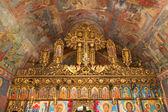 Old orthodox altar — Stock Photo