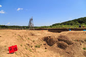 Archaeological excavation — Stock Photo