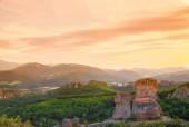 The Belogradchik rocks at sunset — Stock Photo