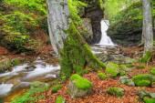 The White water waterfall In Balkan Mountains, Bulgaria — Foto de Stock